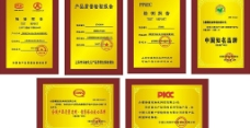 中国市场品牌战?#26376;?#22363;组委会钛金奖牌图片