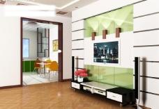 五台客厅型模图片