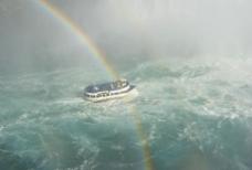 雨后的尼加拉瀑布图片