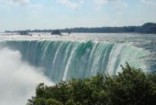 马蹄形瀑布景观图片