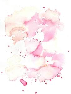 水彩墨迹图片