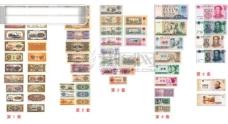 5 套人民币 全套纸币票样 人民币票样 RMB 人民币图片素材 全套人民币