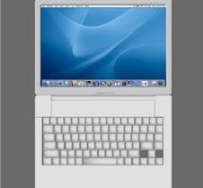 鼠绘苹果G4笔记本图片