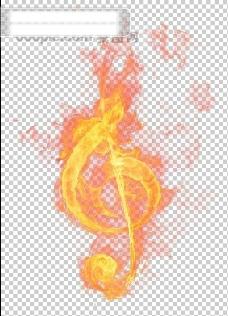 燃烧的音符