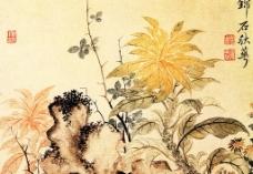 秋萼锦石图图片