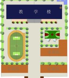 小學平面規劃效果圖圖片