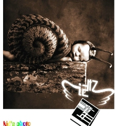 POP海报 儿童摄影服务形象海报图片