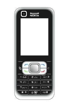 諾基亞6120c設計圖片