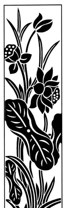 老虎花纹纹身图案