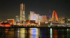 神奈川橫濱夜景图片