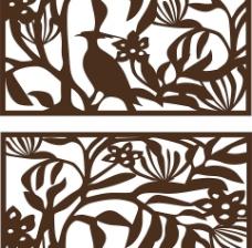 古典木雕窗花图片