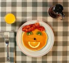 可爱的早餐图片