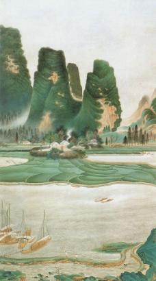 桂林山水图图片