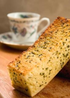 大蒜面包图片