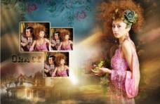 雅典娜恋人影楼模板系列9图片
