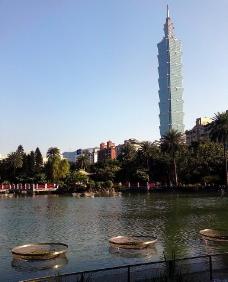 臺北101大樓一隅圖片