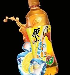原叶红茶背景广告图片