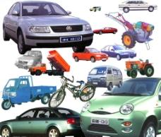 10余种各类汽车农用车分层超大素材图片