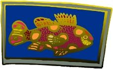 水中动物0572