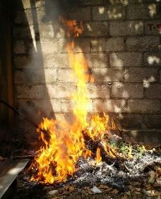 火背景图片