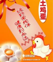 鸡蛋宣传海报模板图片
