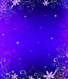 紫色情缘图片