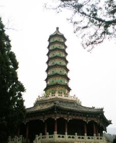 香山宝塔图片
