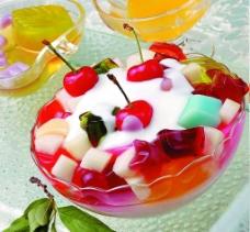 果肉果冻图片