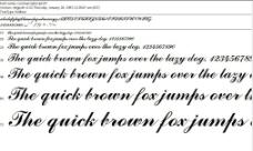 comsc字体