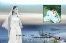 婚纱样册模板图片