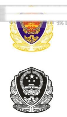 警徽 警标 标志