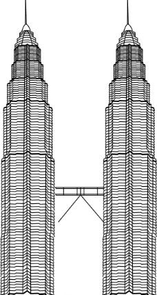 吉隆坡石油双塔图片