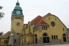 青岛基督教堂图片
