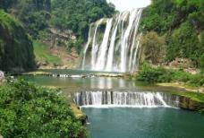 黄果树大瀑布全景图图片