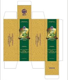 草本精油包装设计图片