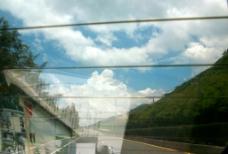 車行窗外景圖片
