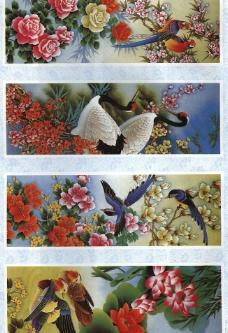 四季花鸟图片