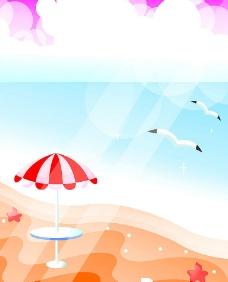 梦幻沙滩图片