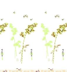 青风竹叶图片