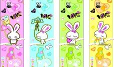时尚小兔子图案图片