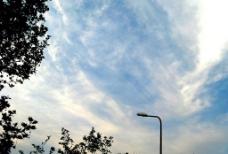 有云的天空图片
