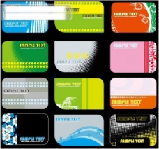 精美艺术卡片模板矢量图 片设计系列 卡片设计 背景 底纹 杂志 画册 模板 电子 花纹 设计 刊例 精美 底纹边框 底纹背景 矢量图库 CDR EPS 广告设计 名片卡片