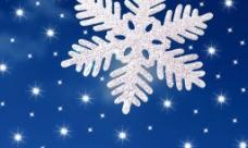 圣诞雪花图片