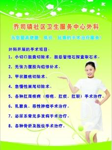 乔司镇社区卫生服务中心外科海报图片