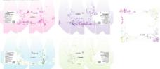 香薰包装系类设计矢量图片