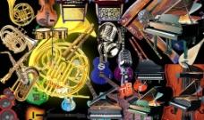 各种乐器素材图片