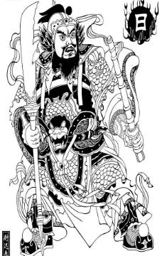 秦始皇人物简笔画