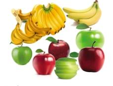 香蕉和苹果图片