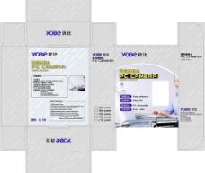 数码产品包装盒图片