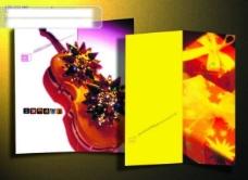 圣诞礼品画册折页设计 psd格式画册设计图